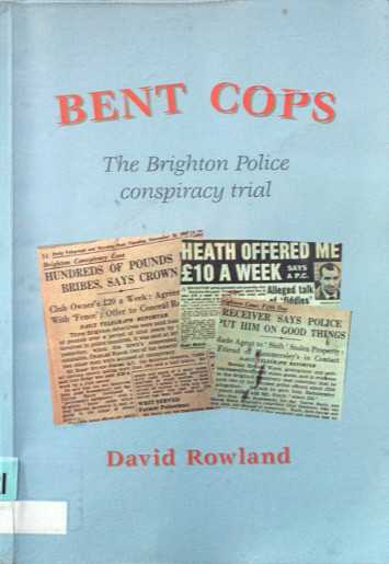 Bent Cops front cover