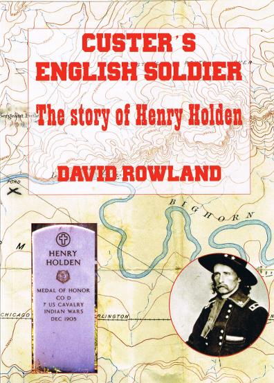 Custer's English Soldier front cover