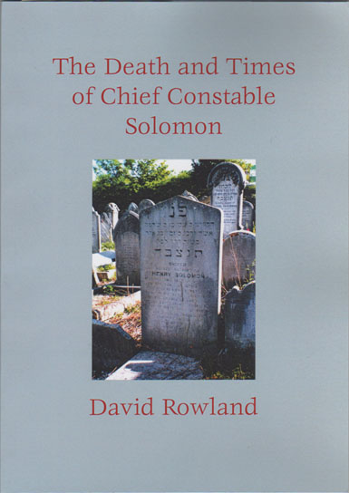 Chief Constable Solomon front cover